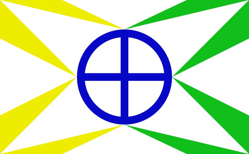 Erster Flaggenentwurf